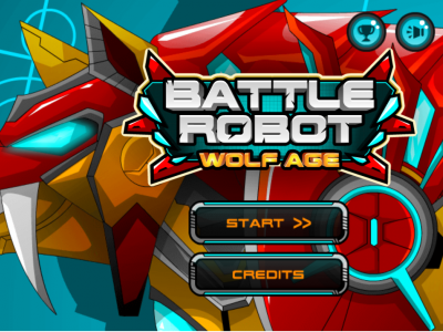 Battle Robot Wolf Age