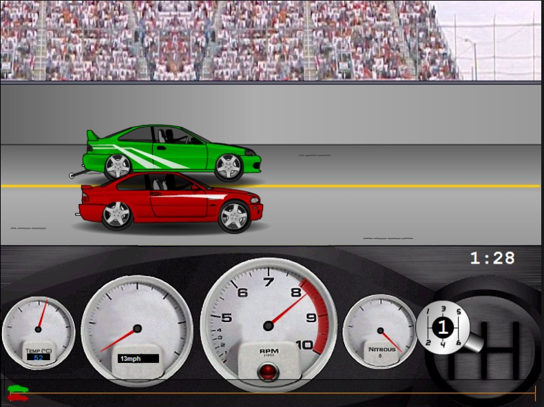 Drag Racer v3 game online to play free games