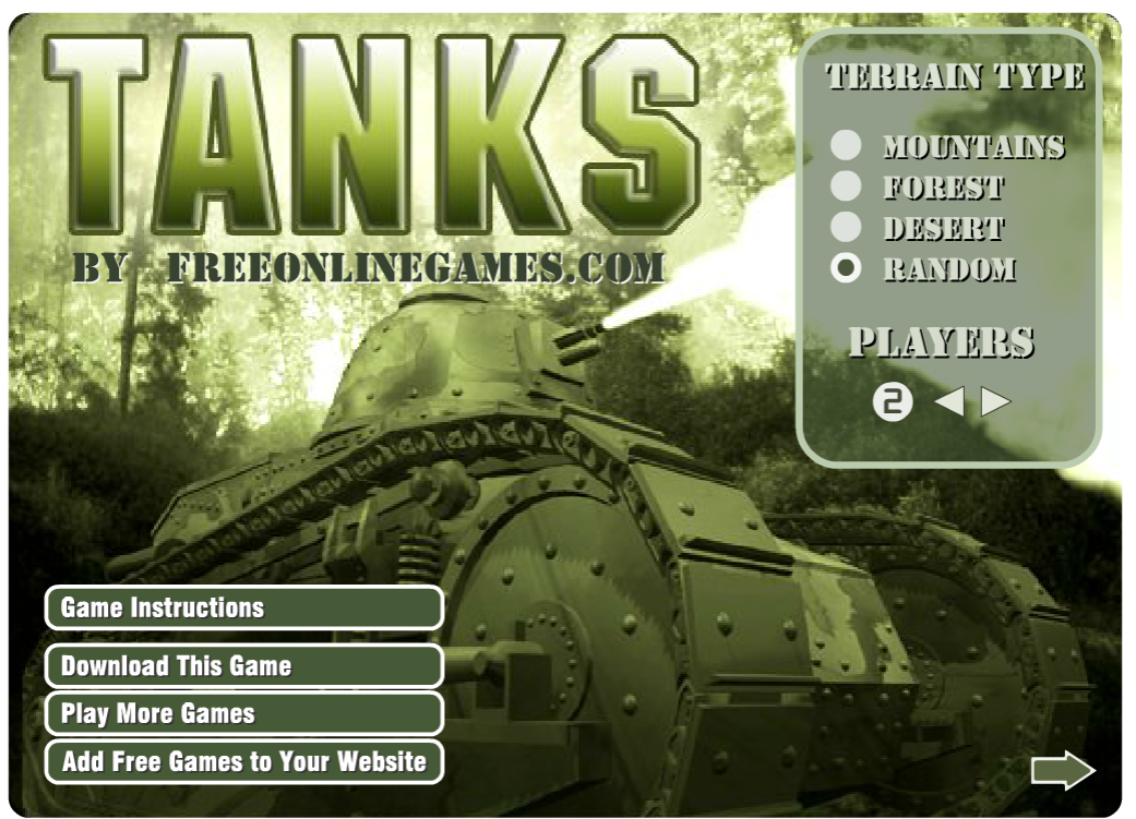 Tanks Online Game